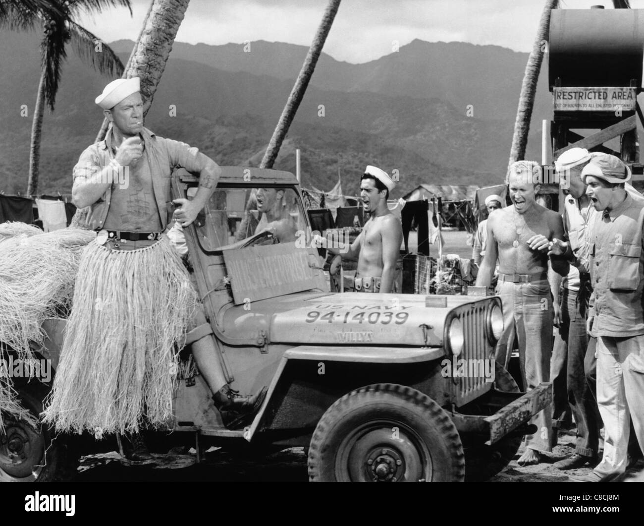 RAY WALSTON SOUTH PACIFIC (1958) - Stock Image