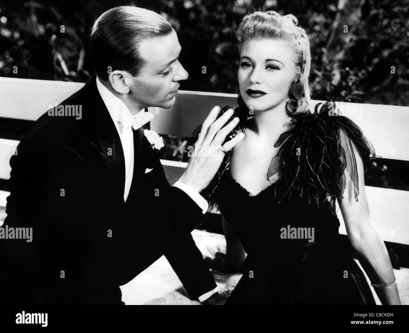 Fred Astaire Ginger Rogers Carefree 1938 Stock Photo Alamy