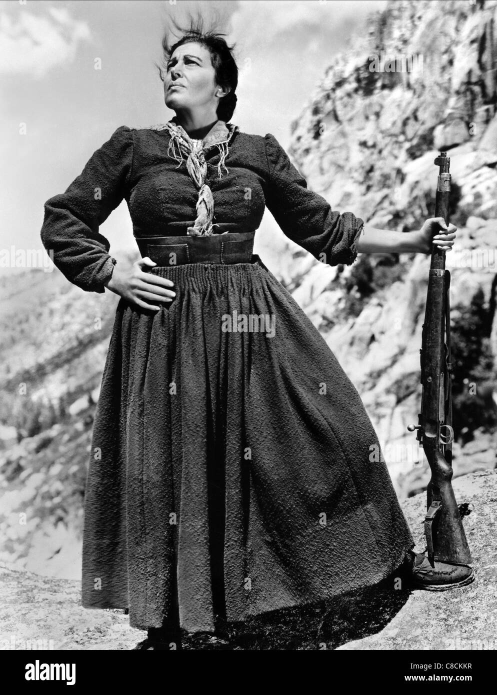 KATINA PAXINOU FOR WHOM THE BELL TOLLS (1943) - Stock Image
