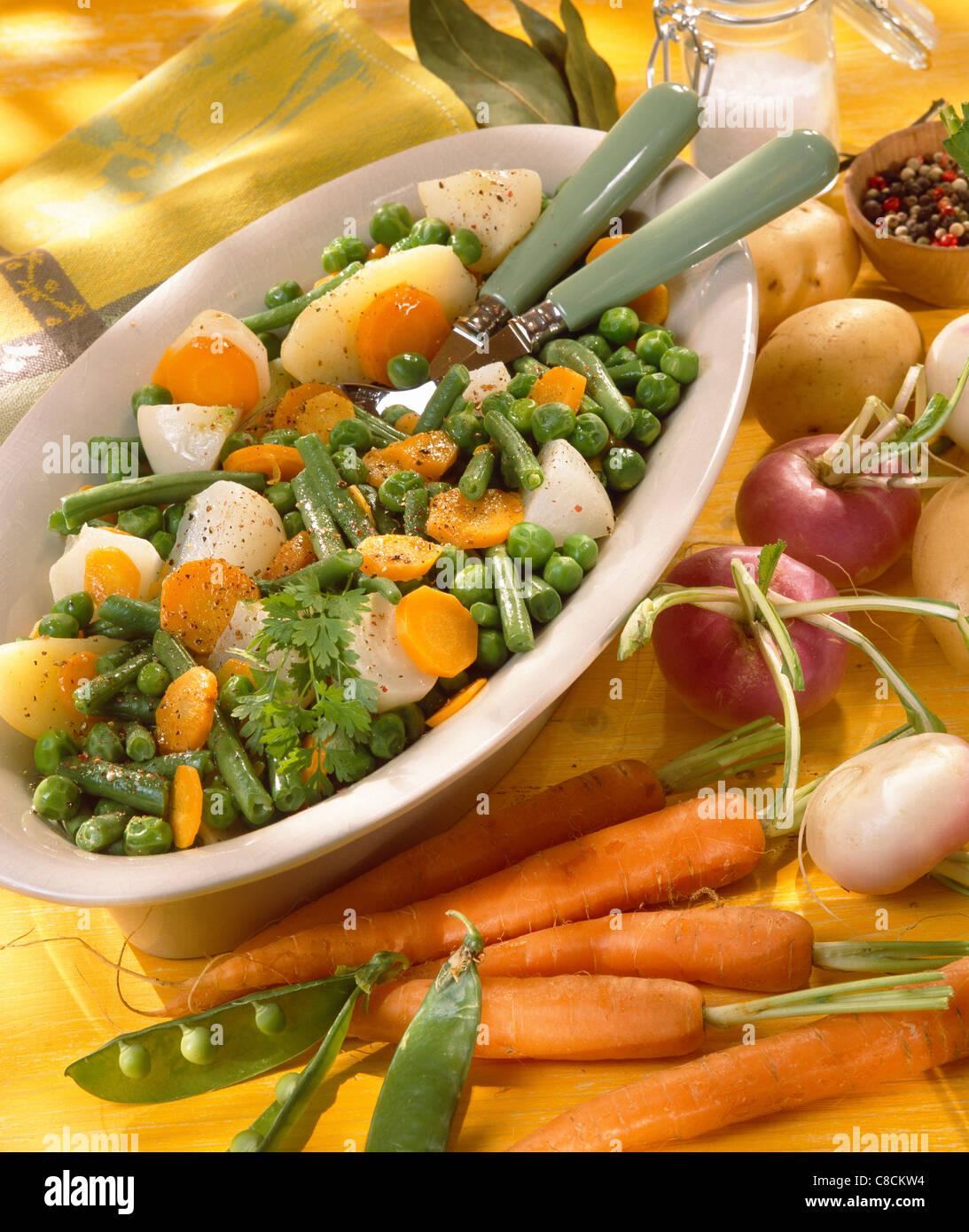 Jardiniere Mixed Vegetables Stock Photo 39617008 Alamy