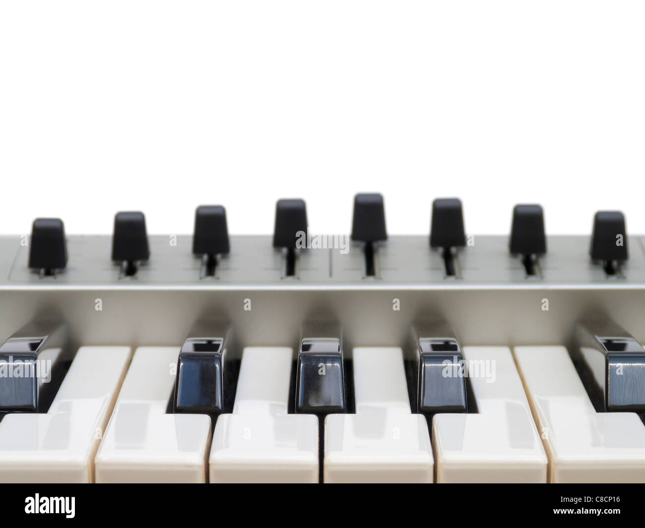 Midi Keyboard - Stock Image