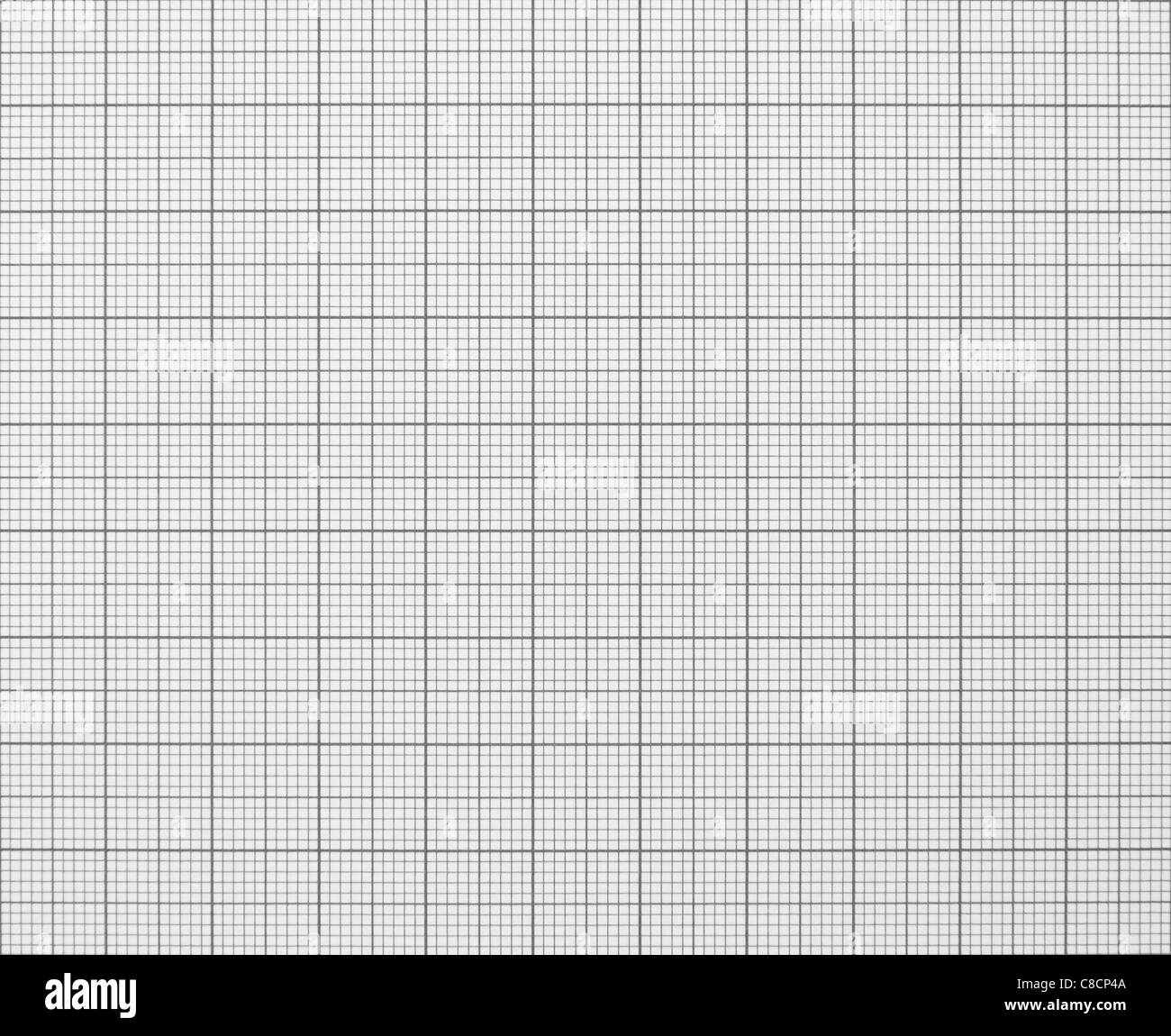Graph Grid Paper Texture - Stock Image