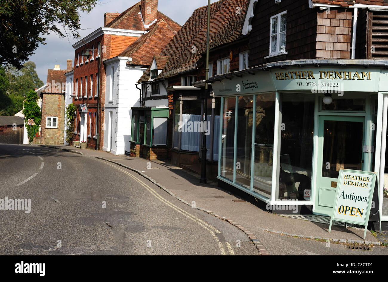 Petworth West Susex England - Stock Image