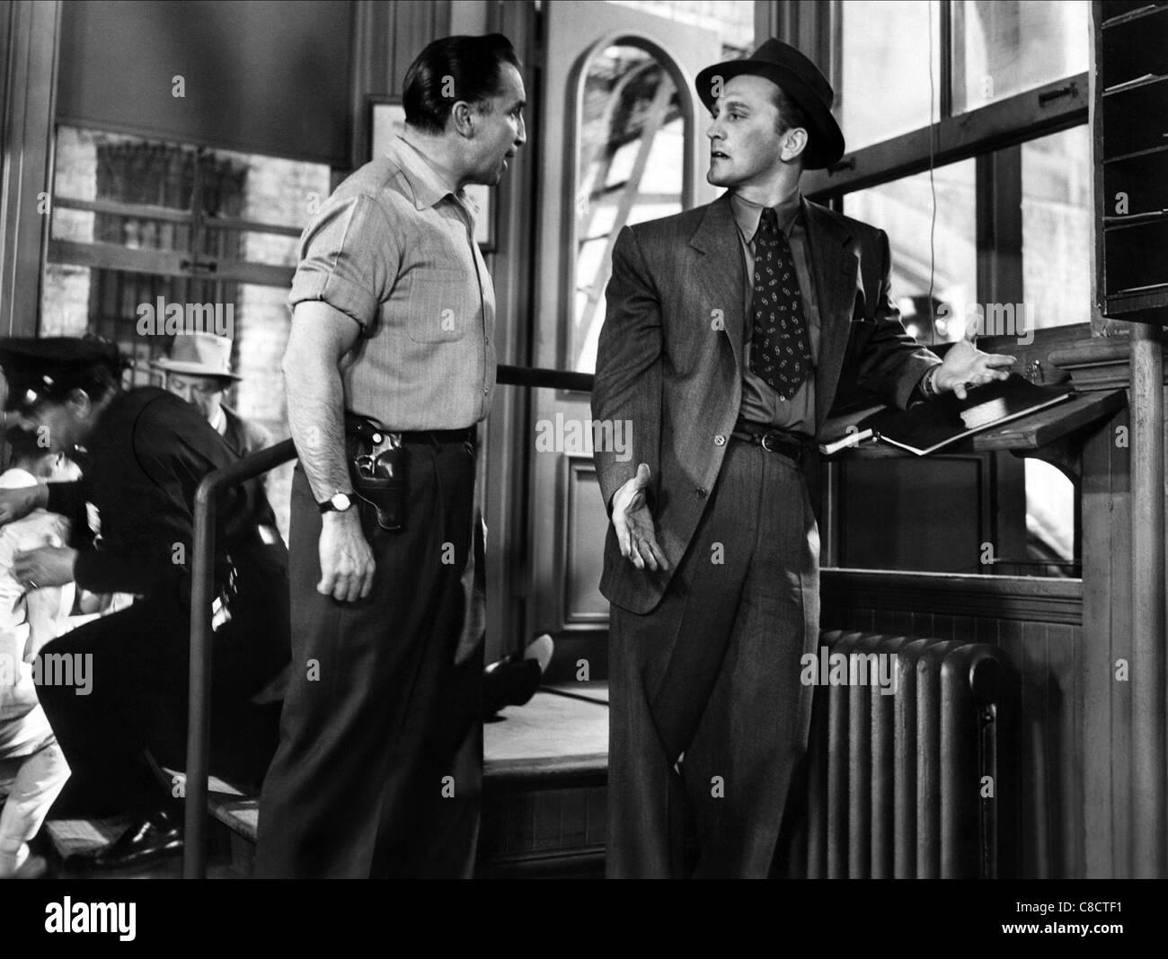 HORACE MCMAHON, KIRK DOUGLAS, DETECTIVE STORY, 1951 - Stock Image