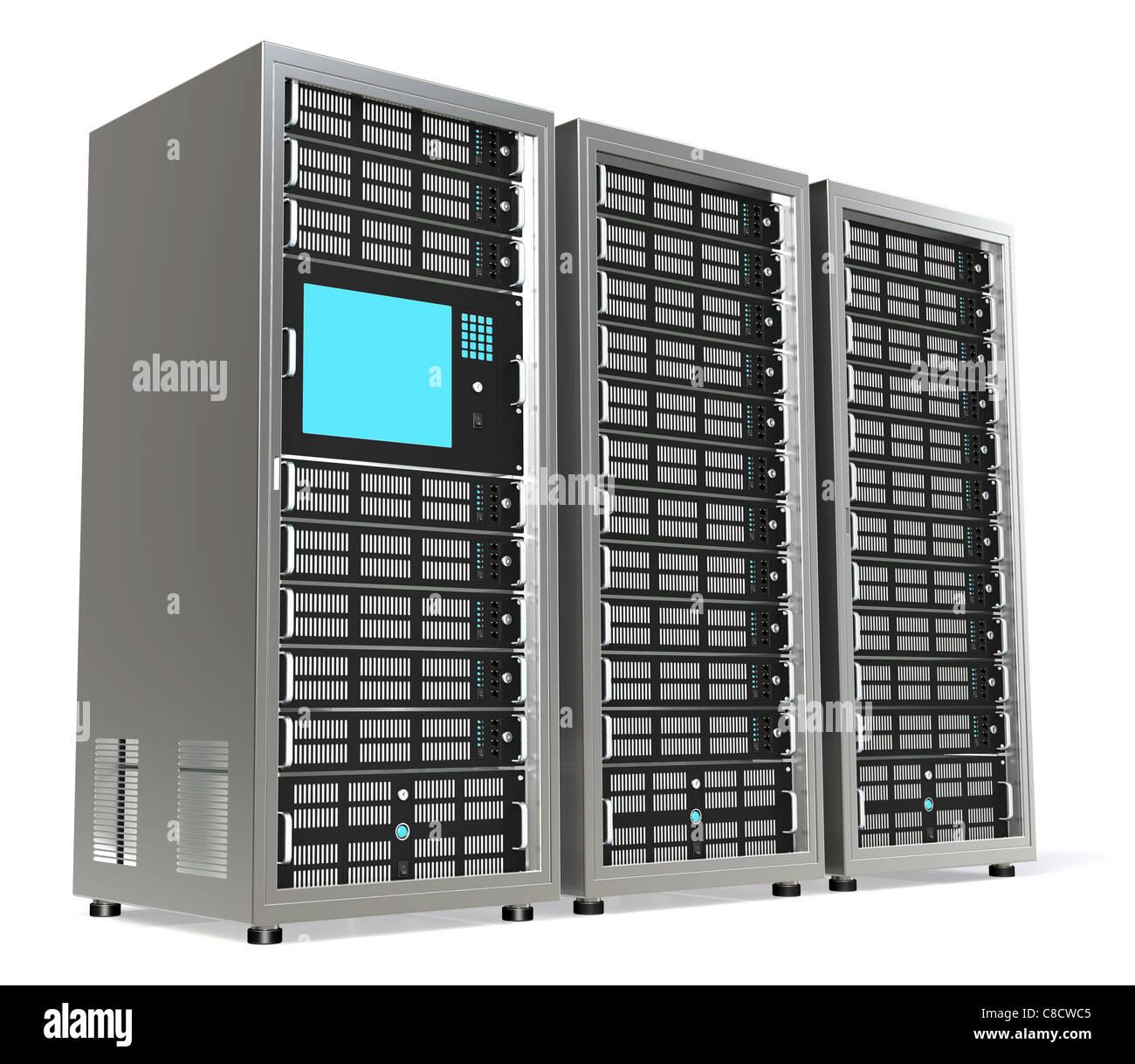 Rack Mounted Server Stock Photos & Rack Mounted Server Stock