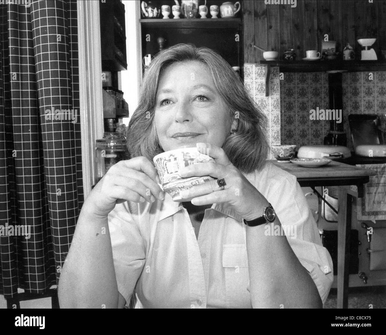 JUDY CORNWELL ACTRESS (1995) Stock Photo