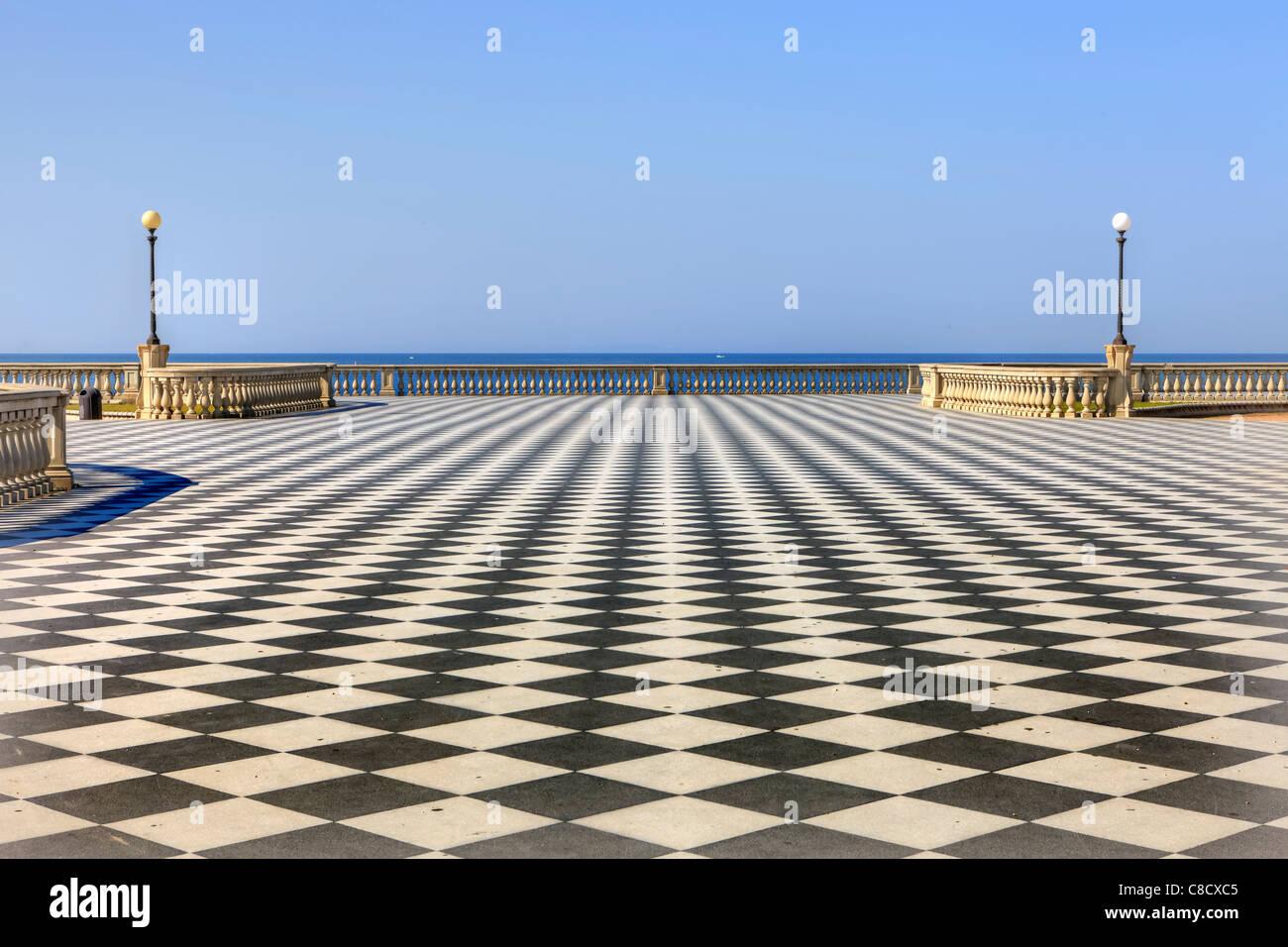 Livorno - Terrazza Mascagni Stock Photo: 39622133 - Alamy