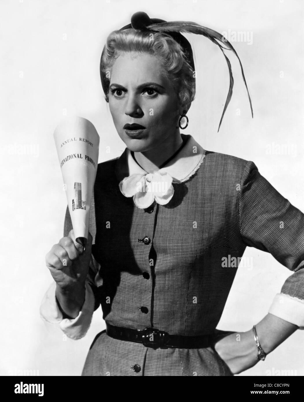 JUDY HOLLIDAY ACTRESS (1956) - Stock Image