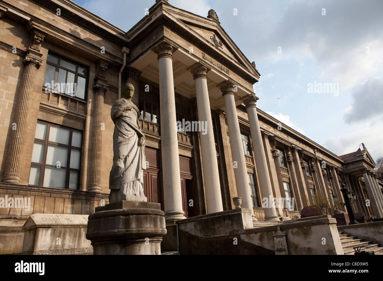Istanbul Archeology Museum, Istanbul, Turkey. - Stock Image