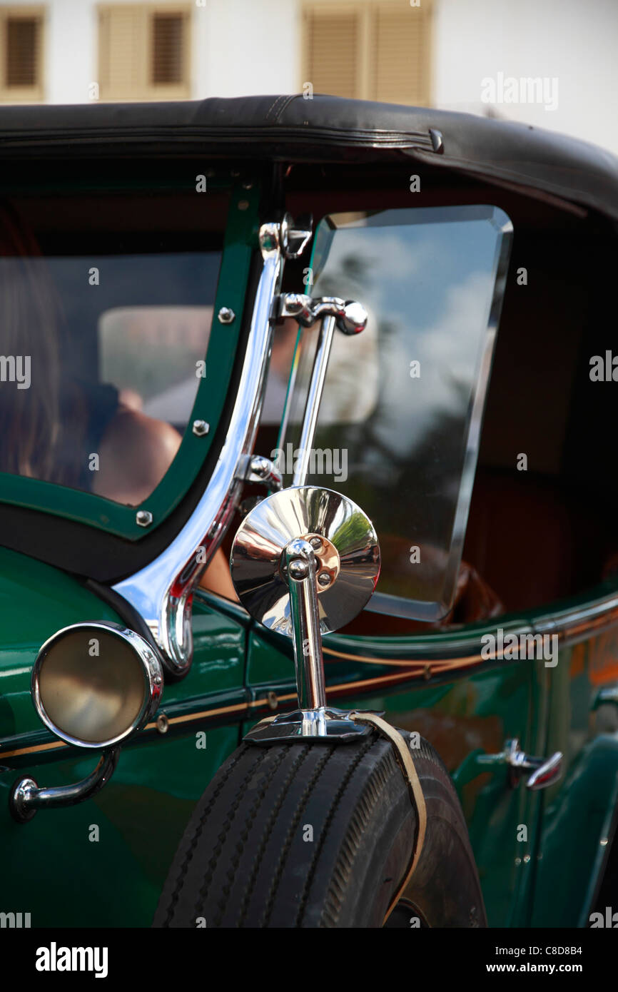 Vintage Whipper, front detail - Stock Image