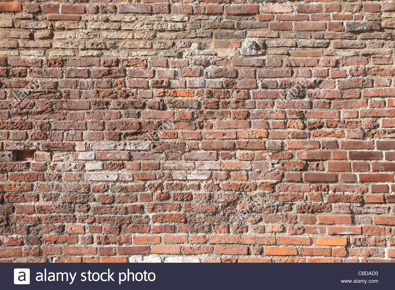 Abstract background with old brick wall. - Stock Image