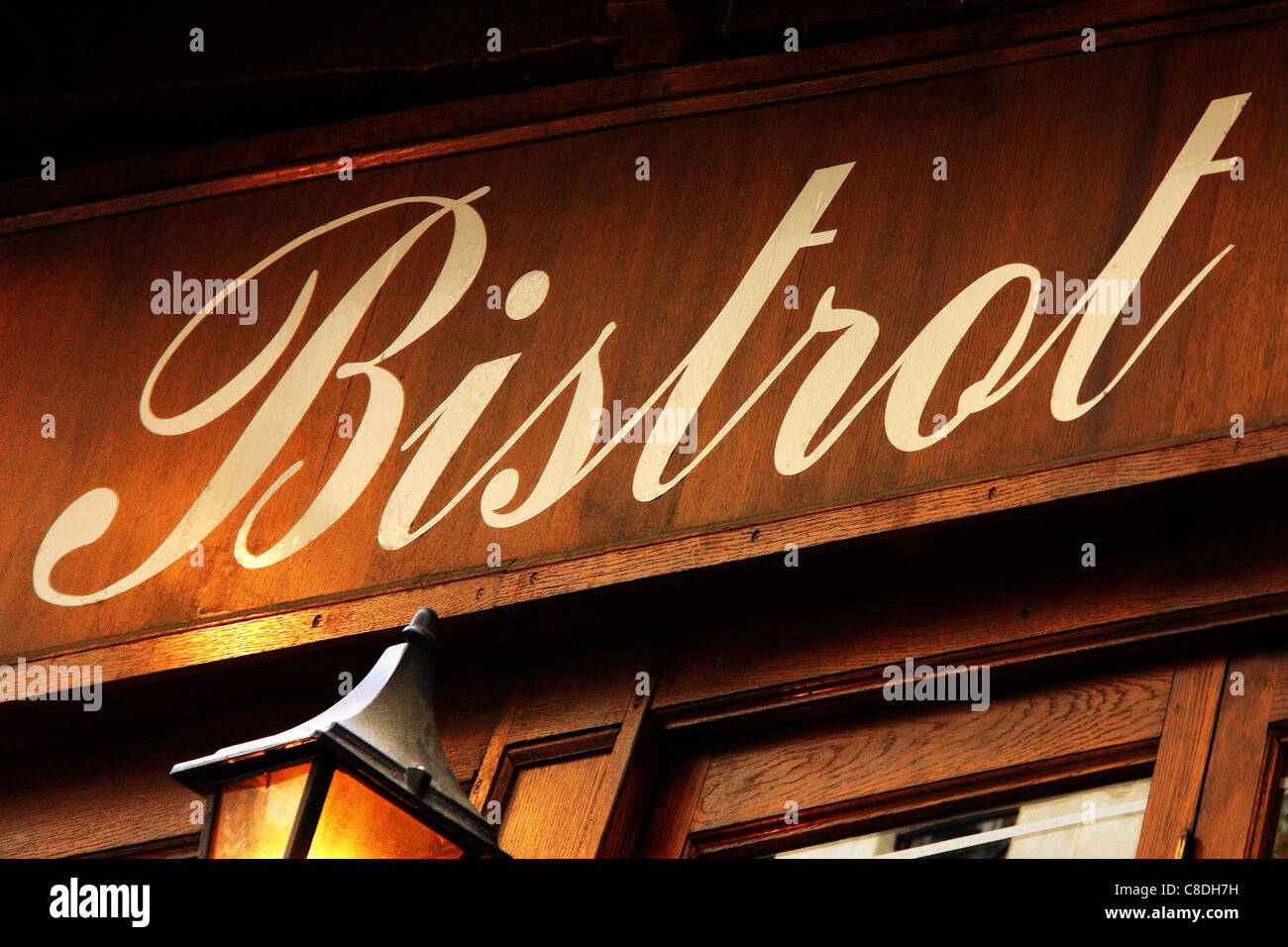 Bistrot sign - Stock Image