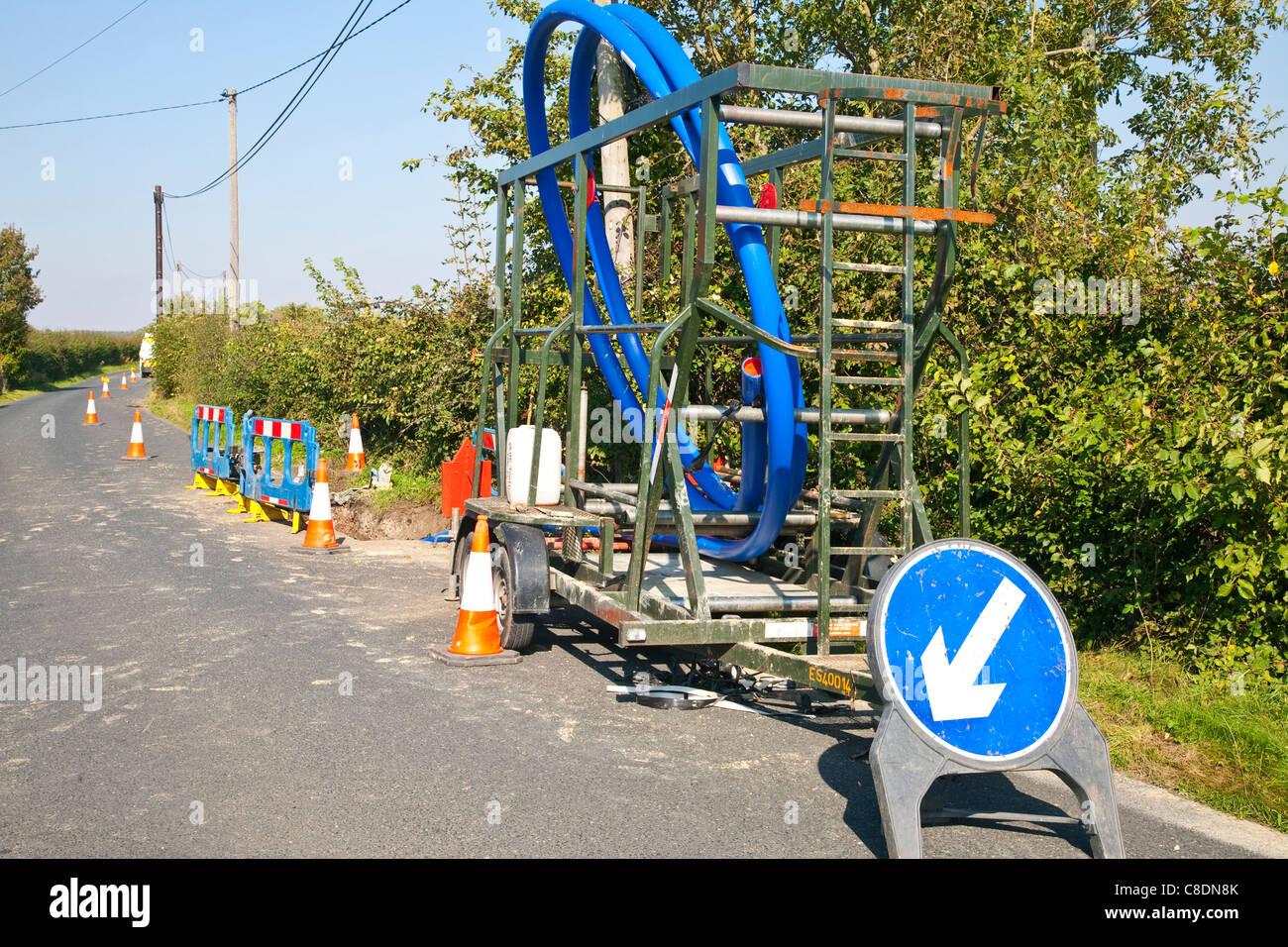 Utility works - Stock Image