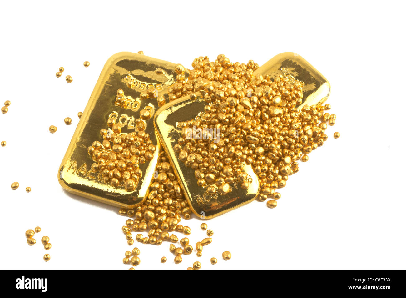 bank banking bars buillon business care currency economy exchange finance financial fortune gold goldbars golden - Stock Image