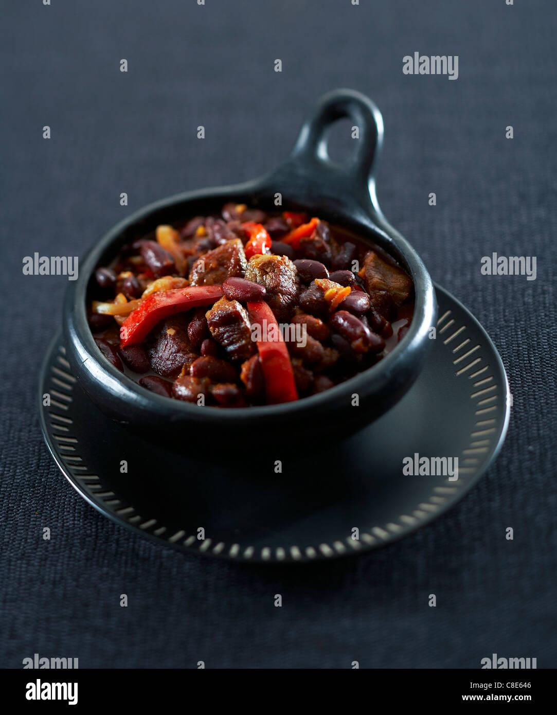 Chili con carne - Stock Image