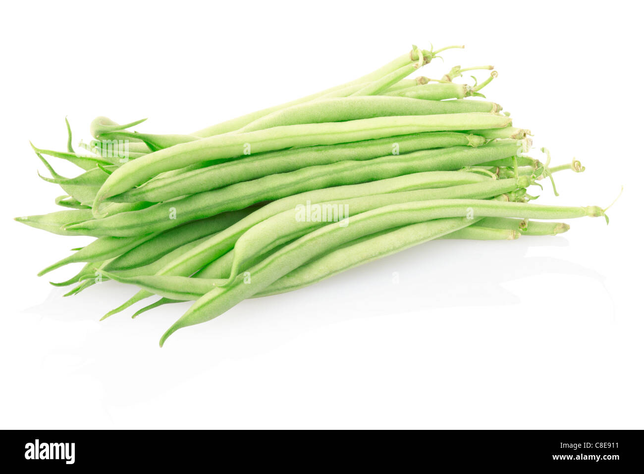 Green beans - Stock Image