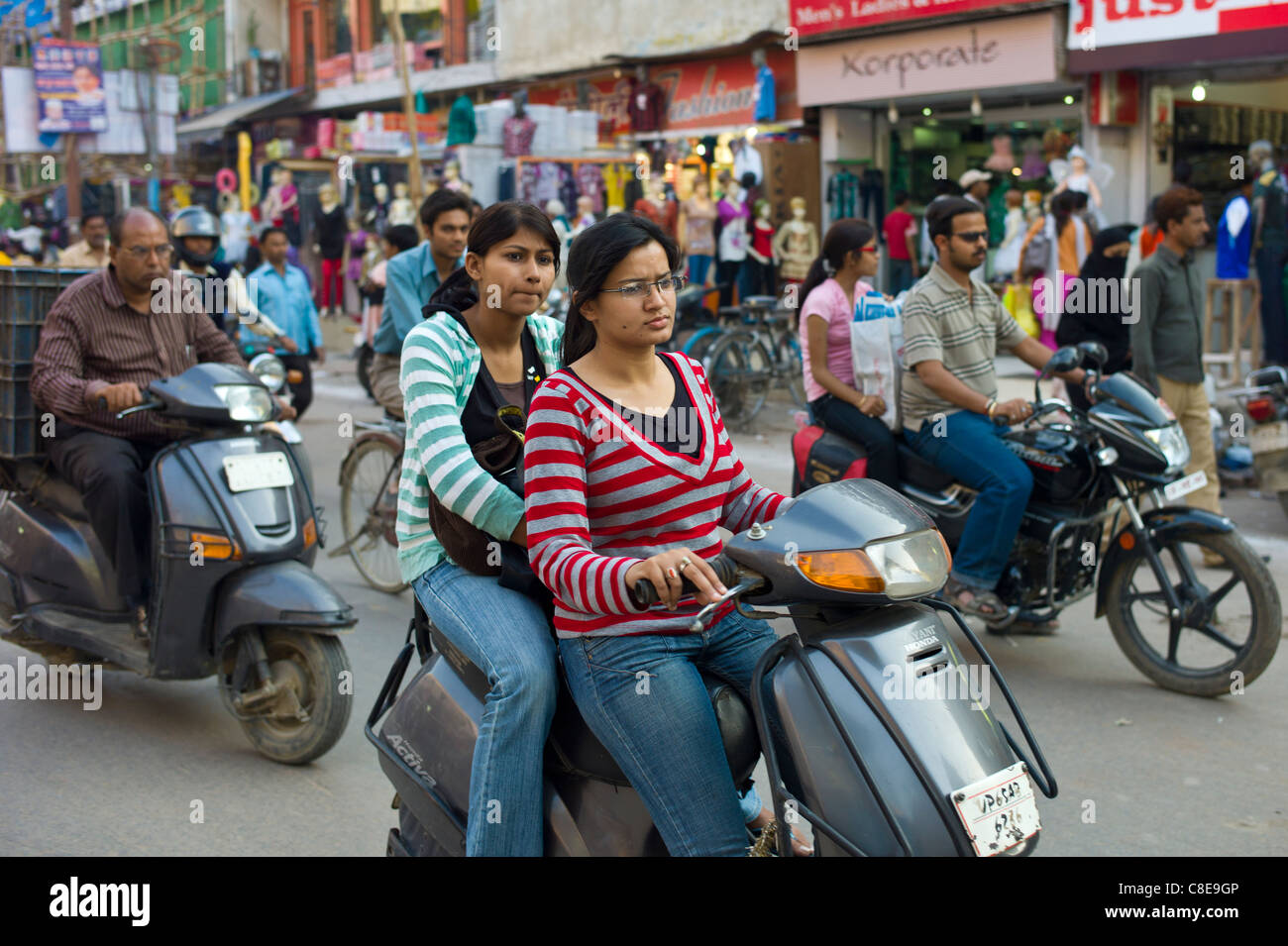 Image result for Indian city scene