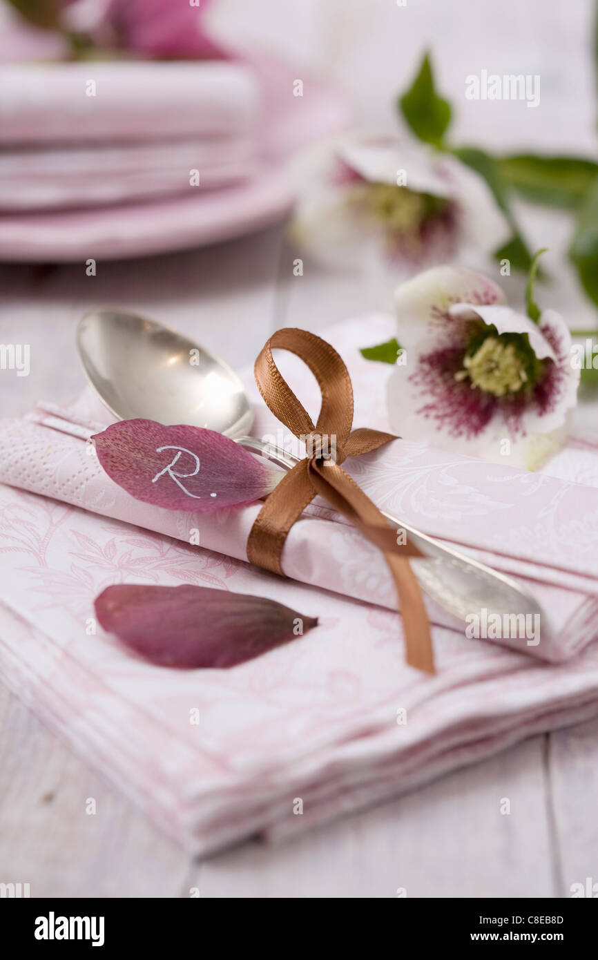 Table decorations - Stock Image