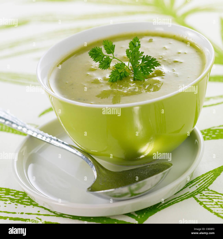 Saint-Germain split pea soup - Stock Image