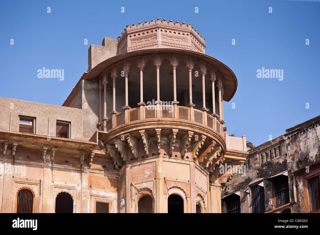 indian architecture of dharbanga ghat in varanasi new luxury clarks