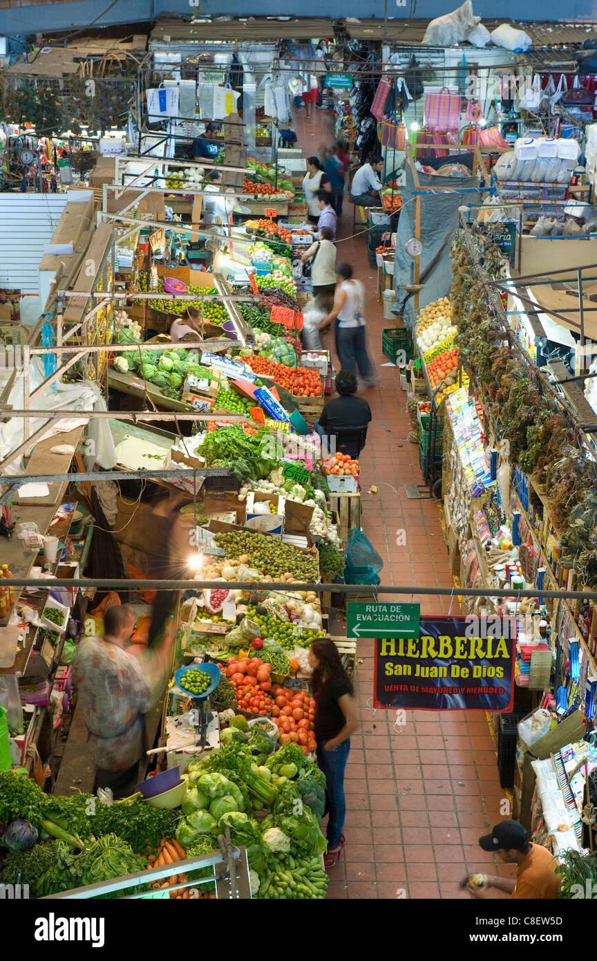 Mercado San Juan de Dios market, Guadalajara, Mexico - Stock Image