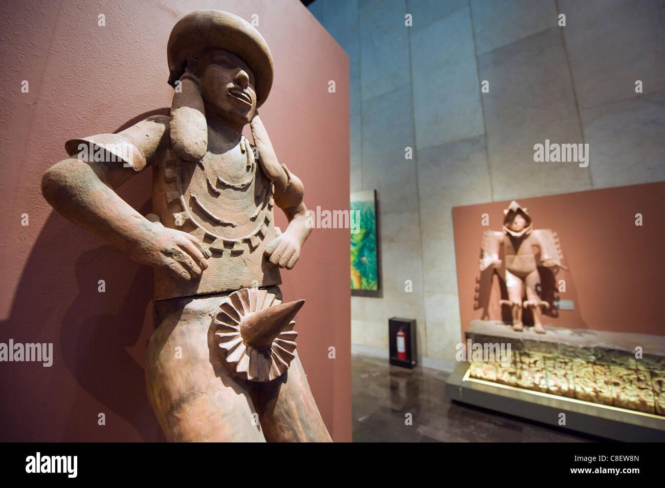 Aztec history, Museo Nacional de Antropologia (Anthropology Museum, District Federal, Mexico City, Mexico - Stock Image
