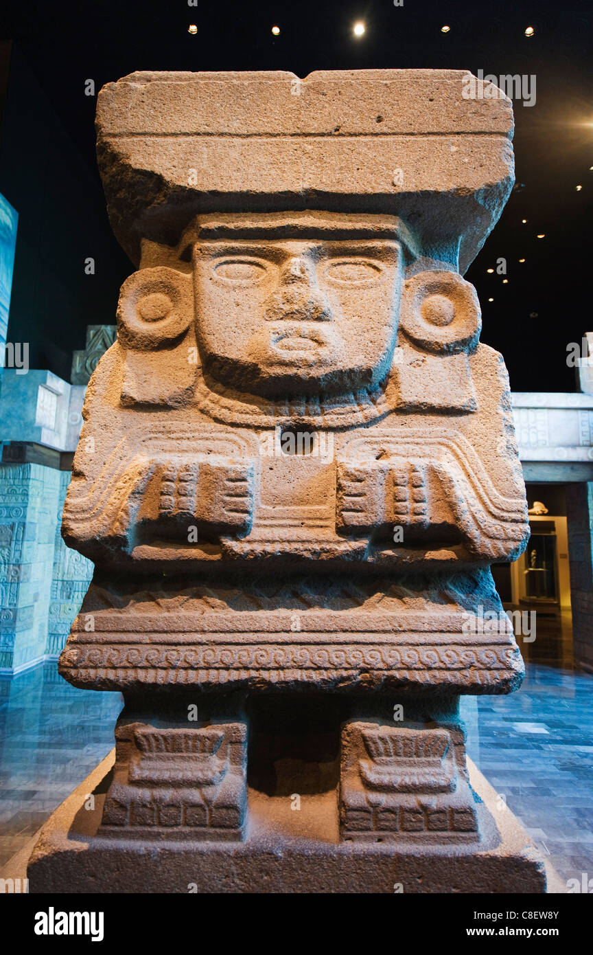 Teotihuacan history, Museo Nacional de Antropologia (Anthropology Museum, District Federal, Mexico City, Mexico - Stock Image