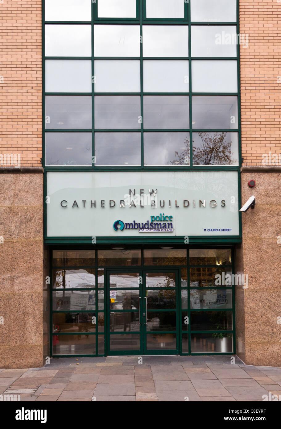 Police Ombudsman Offices, Belfast, Northern Ireland - Stock Image
