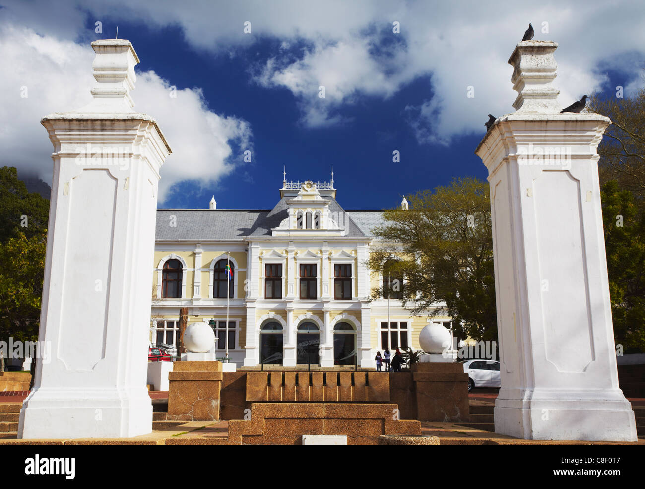 South African Museum, Company's Gardens, City Bowl, Cape Town, Western Cape, South Africa Stock Photo