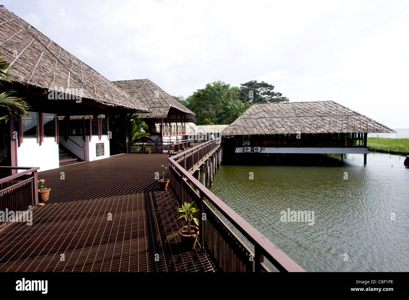 Waterscapes, KTDC, Kerala, India - Stock Image