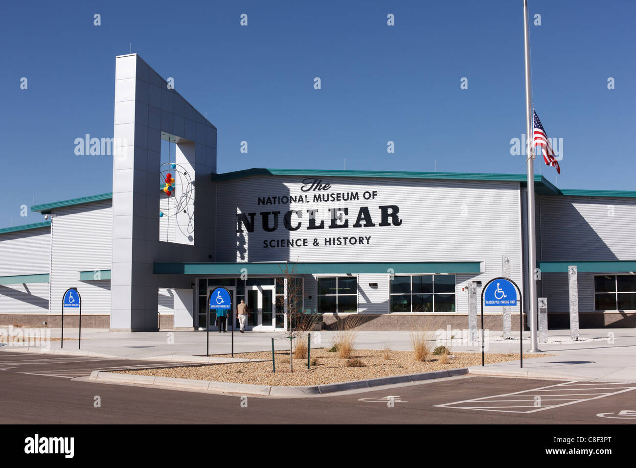 The National Museum of Nuclear Science and History, Albuquerque, New Mexico. - Stock Image