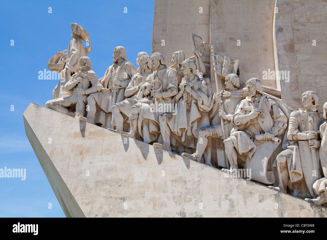 The Monument to the Discoveries, Lisbon, Portugal - Stock Image