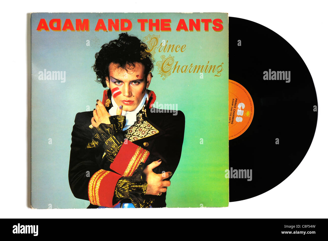 Adam and the Ants Prince Charming album - Stock Image