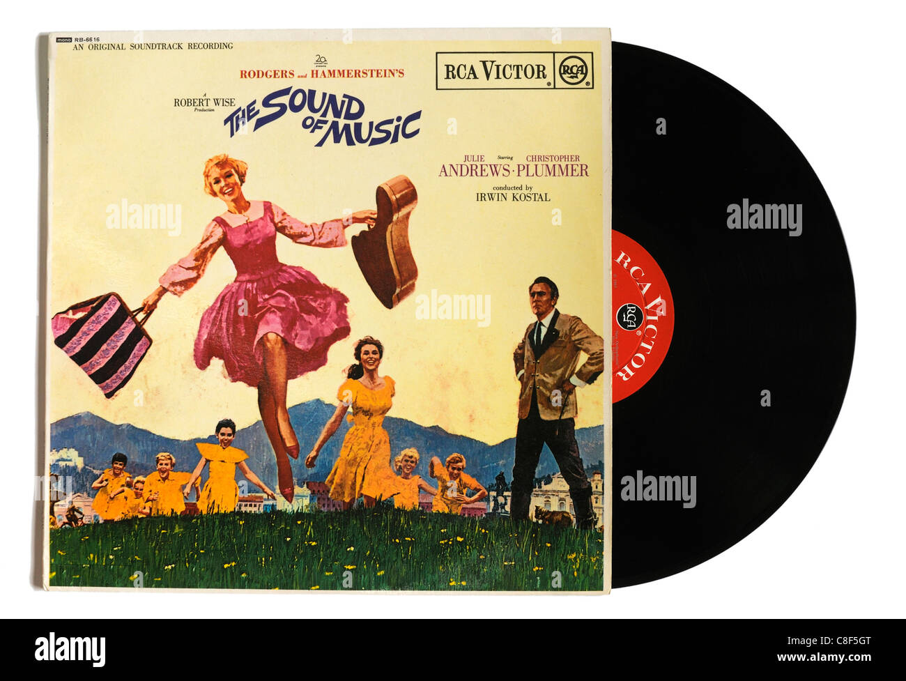 The Sound of Music film soundtrack - Stock Image