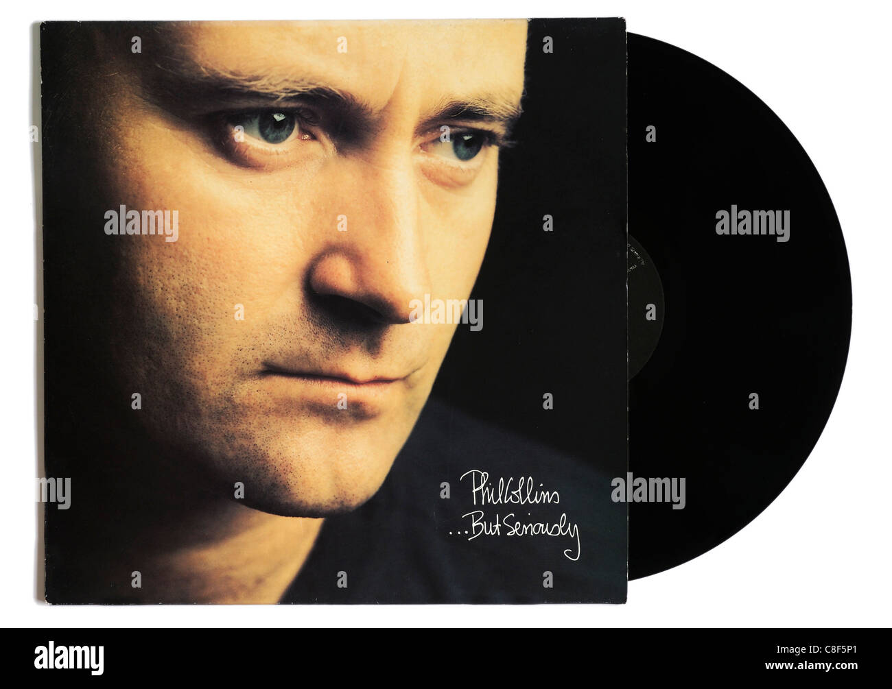 Phil Collins But Seriously album Stock Photo