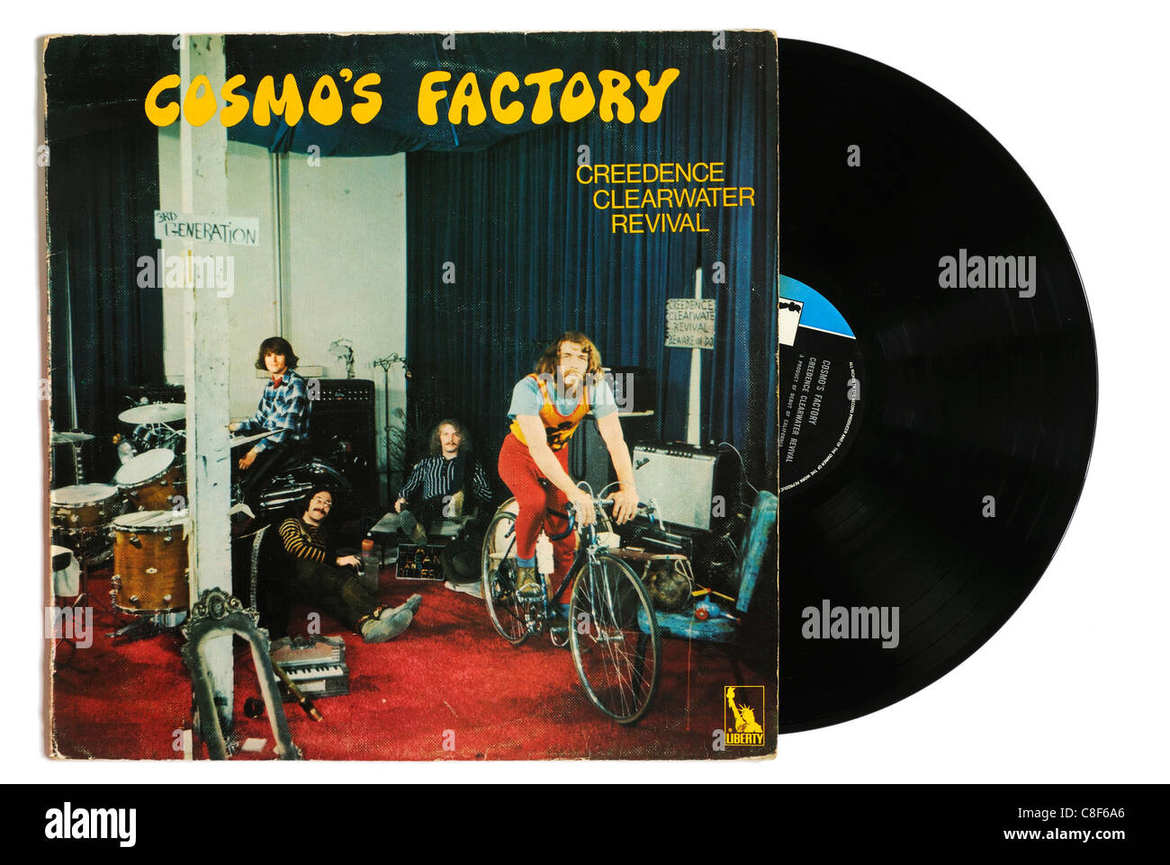 Creedence Clearwater Revival Cosmo's Factory album - Stock Image