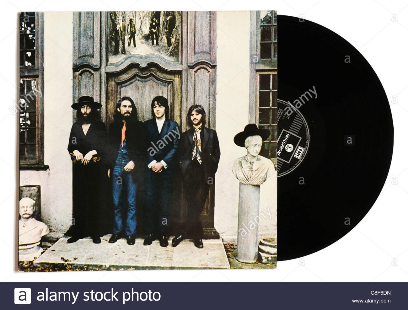 The Beatles Hey Jude album - Stock Image