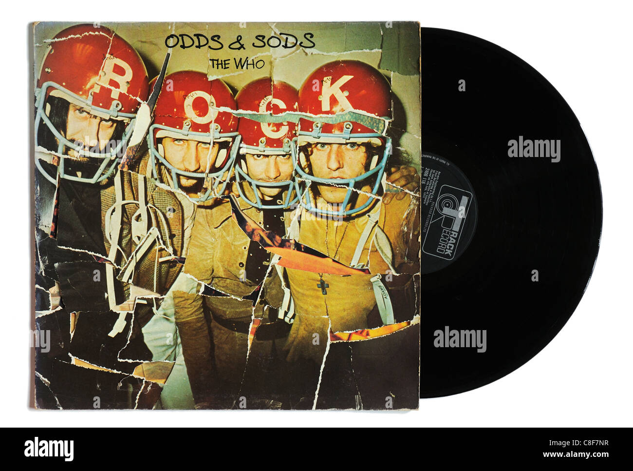 The Who Odds and Sods album - Stock Image