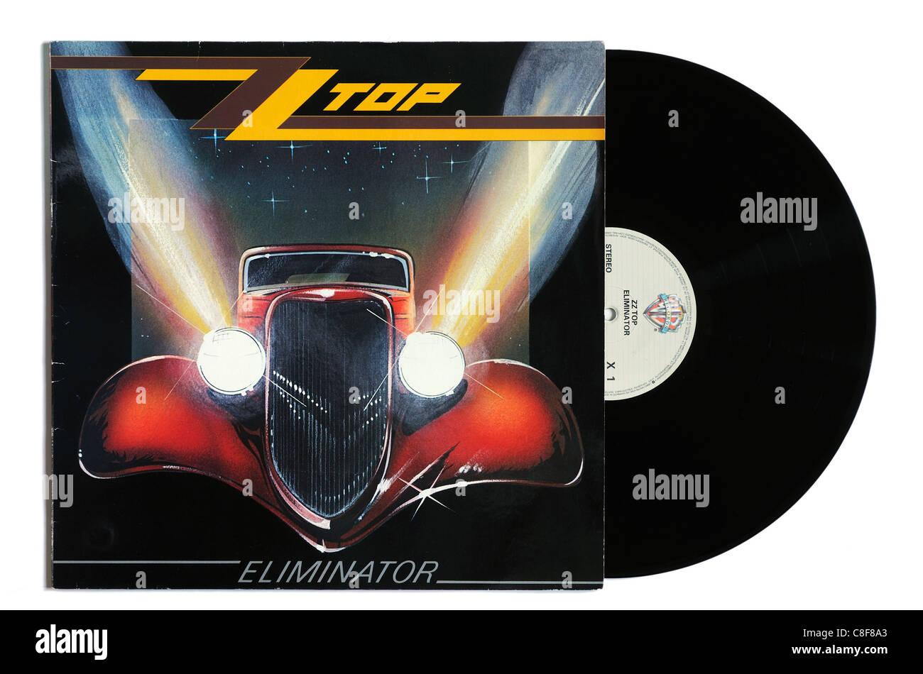 ZZ Top Eliminator album - Stock Image