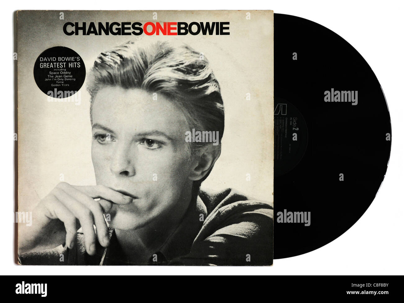 David Bowie Changes One album - Stock Image