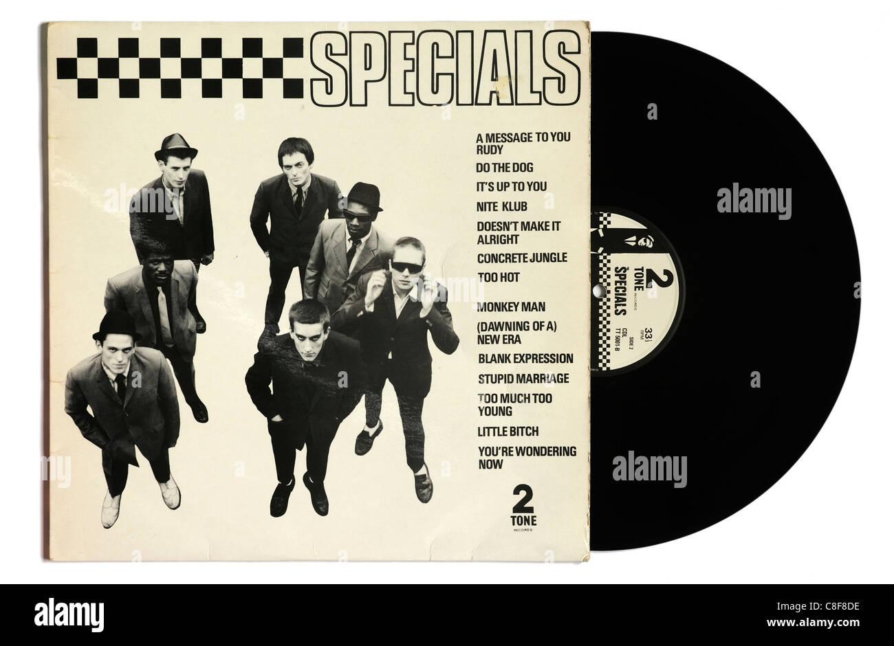 The Specials album - Stock Image