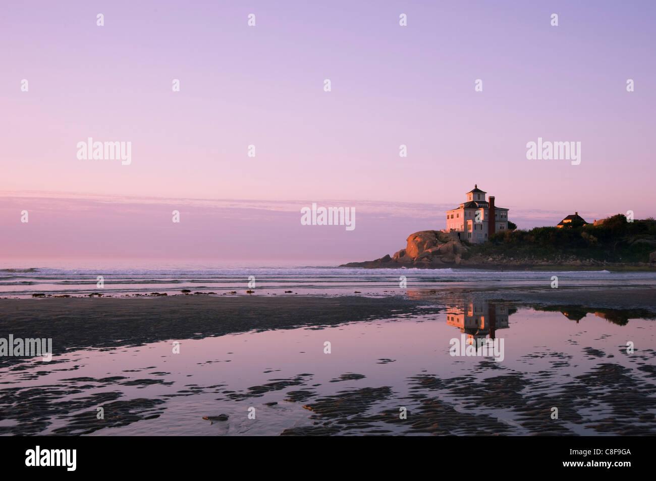 Sunrise at Good Harbor Beach, Gloucester, Massachussetts, New England, United States of America - Stock Image