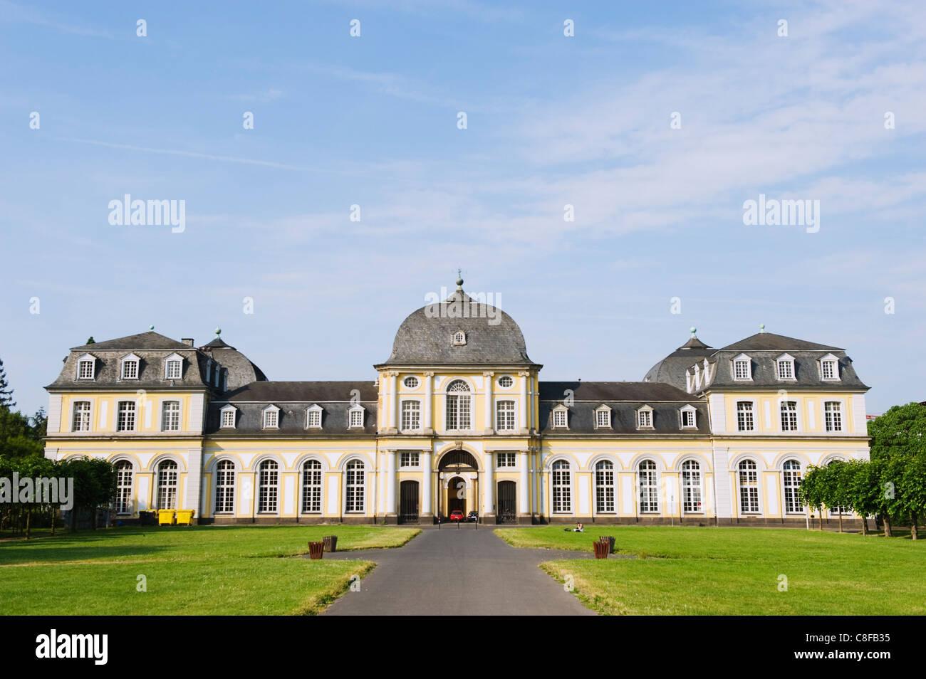 Botanical gardens, Bonn, North Rhineland Westphalia, Germany Stock Photo