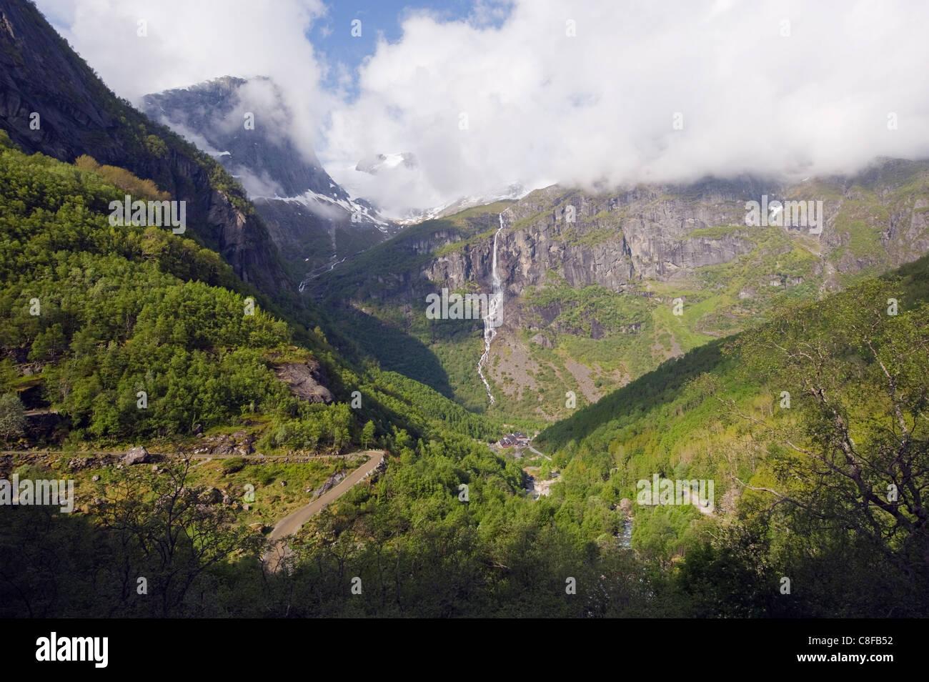 Jostedalsbreen glacier, Western Norway, Norway, Scandinavia - Stock Image