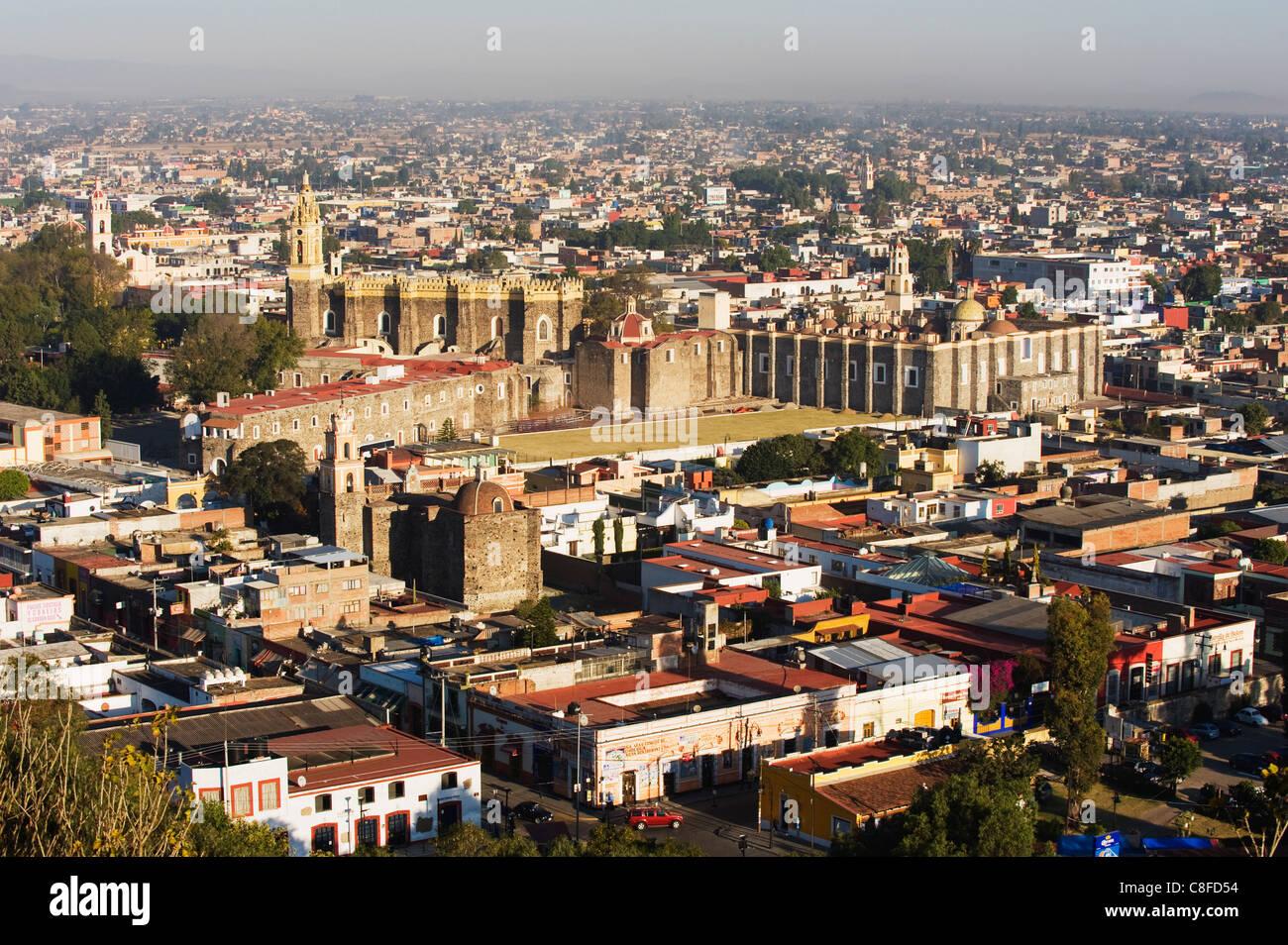 Cholula, Puebla state, Mexico North America - Stock Image
