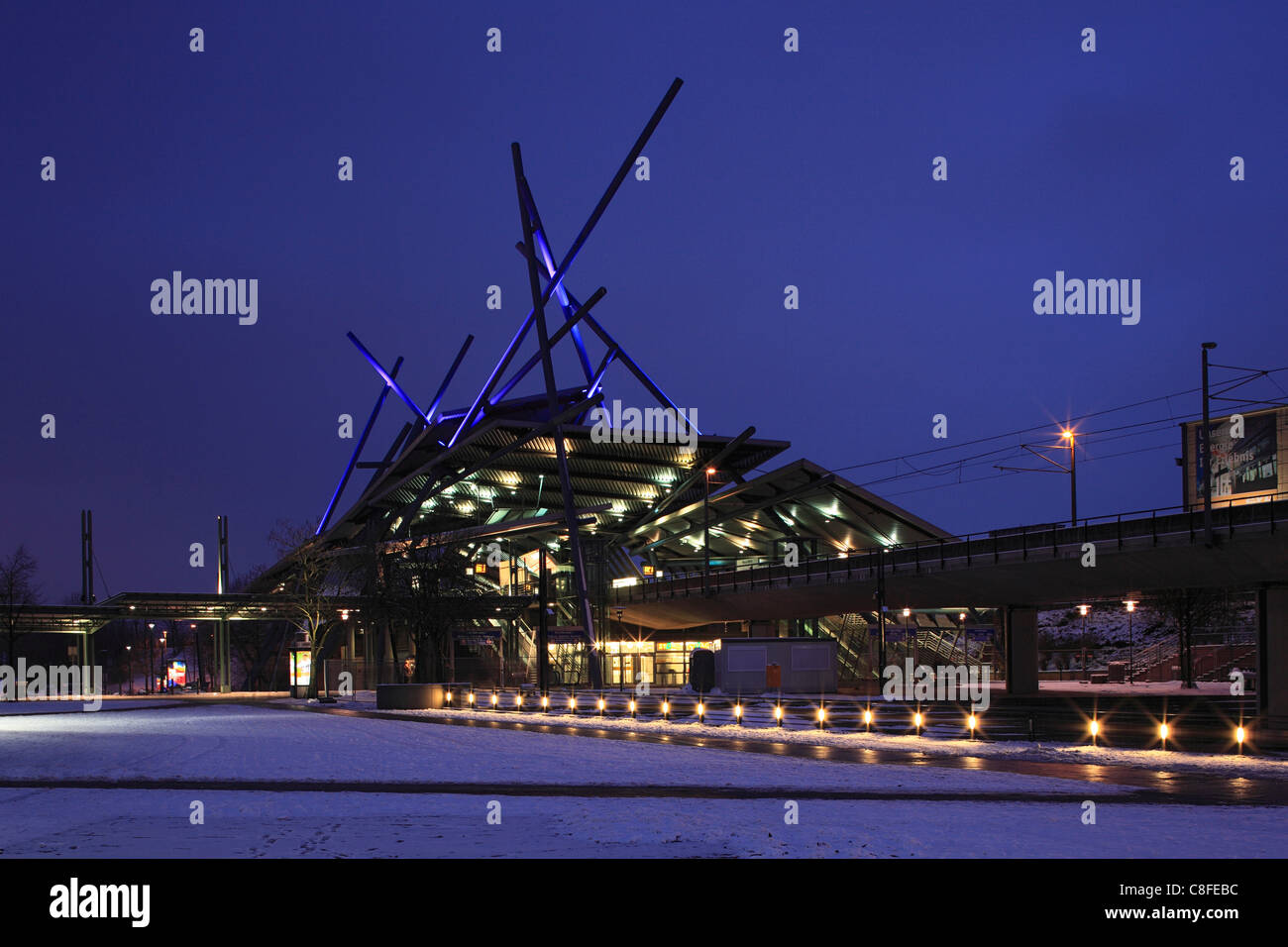 Germany, Europe, Oberhausen, Ruhr area, Lower Rhine, North Rhine-Westphalia, Germany, Europe, Oberhausen-Neue Mitte, Stock Photo