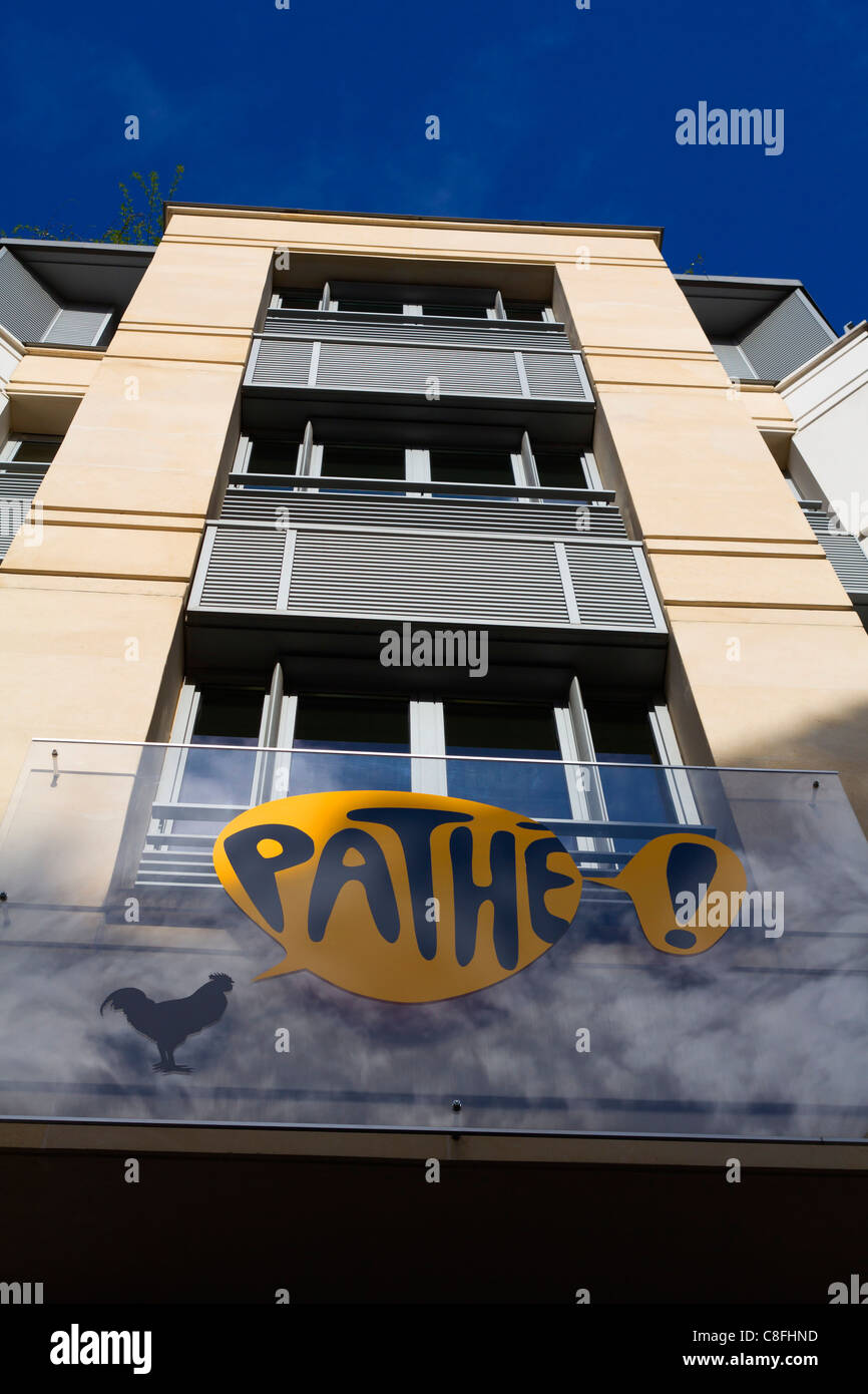 Pathé building, Paris, France - Stock Image