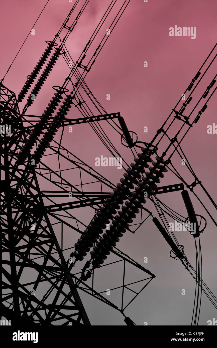Critical Infrastructure - Stock Image