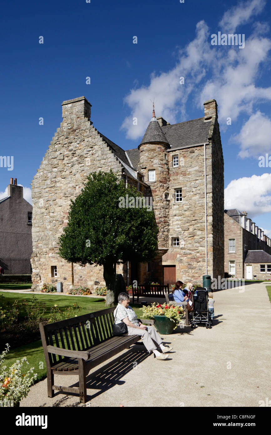 Mary Queen of Scots House Jedburgh - Stock Image