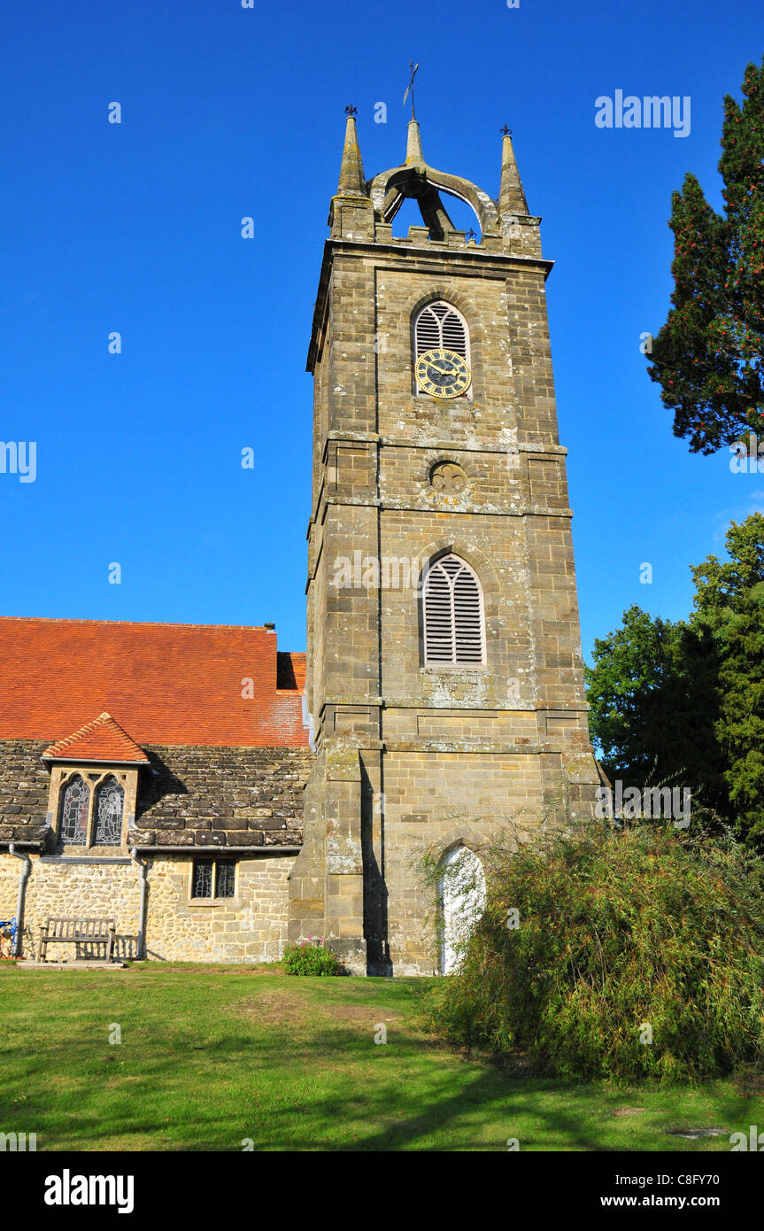 Tillington Parish Church, Tillington, West Sussex Stock Photo